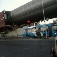 Photo taken at Metro Rojas Magallanes by Roberto C. on 4/12/2012