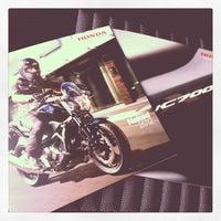 Photo taken at Honda Moto by PierG G. on 5/12/2012