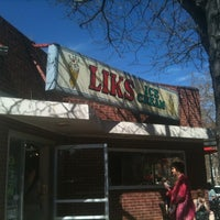 Photo taken at Liks Ice Cream by Rodolfo R. on 3/24/2012