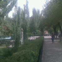 Photo taken at YSU Park | ԵՊՀ այգի by Anahit M. on 5/31/2012