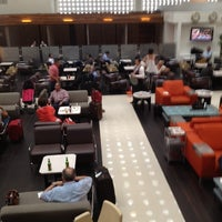 Photo taken at The Centurion Lounge by American Express by Higinio G. on 3/1/2012