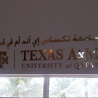 Photo taken at Texas A&M University at Qatar by Qatar 2. on 9/11/2012