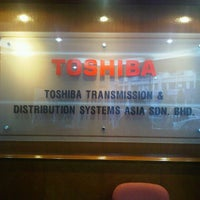 Photo taken at Toshiba Transmission & Distribution Systems Asia Sdn Bhd by Mandy C. on 7/20/2012
