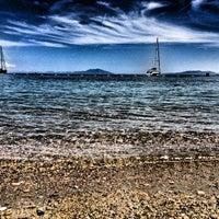 Photo taken at Kempinski Hotel Barbaros Bay by Hayri T. on 5/27/2012