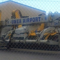 Photo taken at Umeå Airport (UME) by Jonas on 7/11/2012