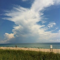 Photo taken at Worth Ave Beach by Keith M. on 9/7/2012