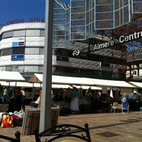 Photo taken at Station Almere Centrum by Ronald A. on 5/25/2012