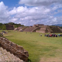 Photo taken at Monte Albán by Rodrigo G. on 7/20/2012