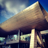 Photo taken at The Lowry by Karl W. on 9/7/2012