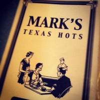 Photo taken at Mark's Texas Hots by Robin H. on 8/11/2012