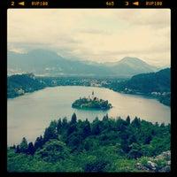Photo prise au Blejsko Jezero / Lake Bled par Veronika S. le6/10/2012