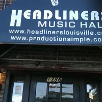 Photo taken at Headliners Music Hall by Laura R. on 6/6/2012