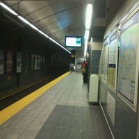 Photo taken at Yaletown - Roundhouse SkyTrain Station by Arthur S. on 2/24/2012