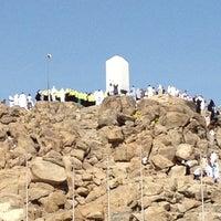 Photo taken at Arafah Mountain by Dwitya D. on 5/1/2012