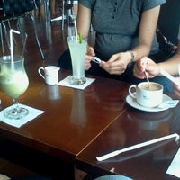 Photo taken at EXCELSO Café by Wahyu S. on 3/3/2012