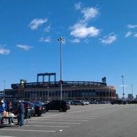 Photo taken at Citi Field Parking Lot by Jeremiah J. on 4/5/2012