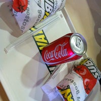 Photo taken at Subway by Aline Nepomuceno on 5/10/2012