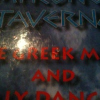 Photo taken at Mykonos Taverna by Francesca A. on 5/12/2012