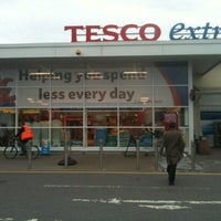 Photo taken at Tesco by Michelle on 5/8/2012