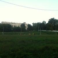 Photo taken at Стадион ЦСКА в Ватутинках by Sergey U. on 8/19/2012