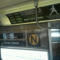 Photo taken at MTA Subway - N Train by Daniel S. on 4/13/2012