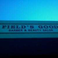 Photo taken at Fields Good Barber And Beauty Shop by Karlett D. on 2/25/2012