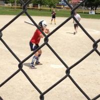 Photo taken at DGSA(Delta Girls Softball Diamonds) by Caitlin D. on 5/12/2012