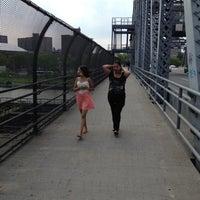 Photo taken at 145th Street Bridge by Daniel G. on 6/10/2012