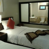 Photo taken at Fair House Beach Resort & Hotel by Naratip K. on 8/23/2012