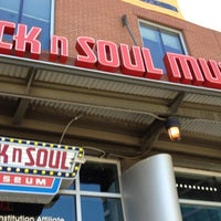 Photo taken at Rock'n'Soul Museum by Damon H. on 6/19/2012