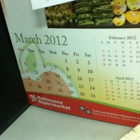 Photo taken at Robinsons Supermarket Corp. by Maria Angelica E. on 3/26/2012