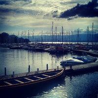Photo prise au Port de Yvoire par ZL G. le8/13/2012