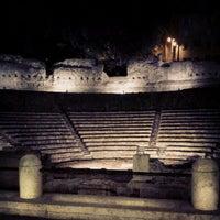 Photo taken at Teatro Romano by Mauro C. on 8/10/2012