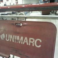 Photo taken at Unimarc by Claudio G. on 7/5/2012