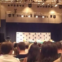 Photo taken at True Blood Panel by John A. on 9/1/2012