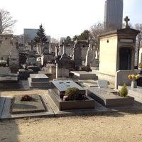Photo taken at Montparnasse Cemetery by Drew G. on 3/22/2012