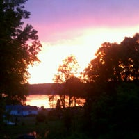 Photo taken at St. Mary's Lake by brian p. on 7/27/2012
