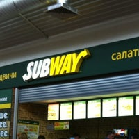 Photo taken at Subway by Tatiana M. on 6/18/2012