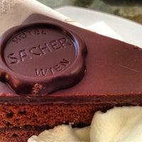Photo taken at Café Sacher by Lora R. on 7/28/2012