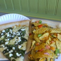 Photo taken at Mesa Pizza By The Slice by Toyo H. on 8/21/2012