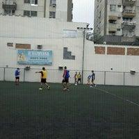 Photo taken at Aquidabola Futebol Society by Jefferson M. on 6/21/2012