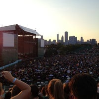 Photo taken at Huntington Bank Pavilion at Northerly Island by Kevin C. on 7/10/2012