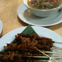 Photo taken at Sate Ayam Lisidu by Nia E. on 7/2/2012