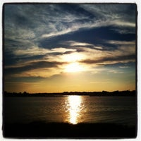 Photo taken at Clinton Beach by Rachel F. on 7/11/2012