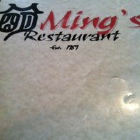 Photo taken at Ming's Restaurant by Tawny A. on 3/15/2012