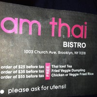 Photo taken at AM Thai Bistro by Naomi on 6/7/2012
