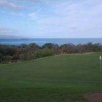Photo taken at Makena Golf Club by Joe M. on 2/26/2012