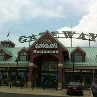Photo taken at Gateway Travel Plaza by Mark C. on 8/3/2012