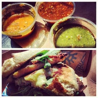 Photo taken at Tortas Frontera by Rick Bayless by eric i. on 6/4/2012