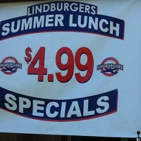 Photo taken at Lindburgers by Jessica B. on 5/30/2012